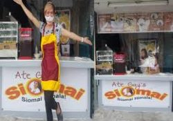 Comedian Ate Gay Closed Down His Newly Build Siomai Business Due To This Reason